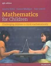 Mathematics for Children: Challenging Children to Think Mathematically by Tom Lowrie, Joanne Mulligan, Janette Bobis (Paperback, 2012)