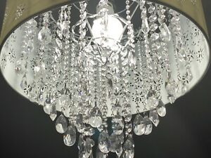Home Decorators Collection Baxendale 5-Light Chrome Chandelier with Clear Glass