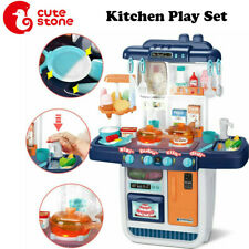 57pcs Kitchen Play Set Pretend Baker Kids Toy Cooking Playset Toddler Toys Gift