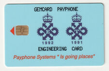 🇬🇧 UK 🇬🇧  - Gemcard Payphone - Engineering card