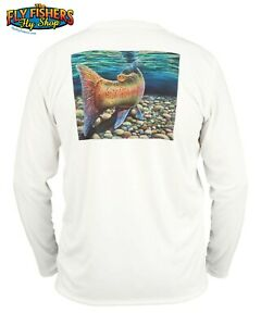 Simms Fishing Solar Tech Tee LS Shirt - XXL - Another Day White - NEW DISCOUNTED