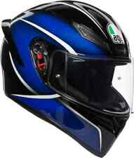 Casco helmet Integrale AGV Full-Face K1 Multi Qualify Nero Blu Taglia XXL