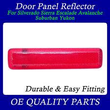 Rear Door Reflector Left for Suburban Avalnche Sierra Truck SUV 74367 15183155