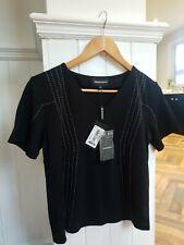 Emporio Armani ladies black top (sz 10) - BNWT
