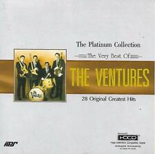 THE VENTURES The Platinum Collection The Very Best Of 28 Original Hits HDCD APS