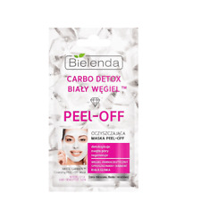 Bielenda White Carbon Cleansing Peel Off Mask Mixed Oil and Sensitive Skin 2x5g