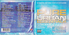 PURE URBAN ESSENTIALS Summer 2009 UK 40-trk promo test 2CD