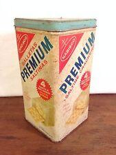 Vintage Nabisco Premium Saltine Crackers Advertising Tin (hd2)
