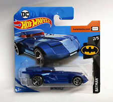 Batman 2019 Hot Wheels Blue Batmobile FWG03 Euro card