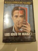 Dvd LOS IDUS DE MARZO (RYAN GOSLING Y GEORGE CLOONEY...)◇precintado nuevo◇