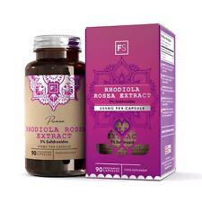 Rhodiola Rosea Comprimés (200mg) | 3% Salidrosides | FAVORISE L'ÉNERGIE