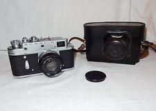 Vintage USSR Camera ZORKI 4 + Jupiter 8 2/50mm  * 1971
