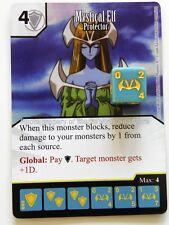 Yu-Gi-Oh! MYSTICAL ELF Protector #095 rare Yugioh Dice Masters card #95/120