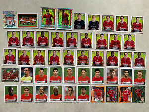 Liverpool Merlin Premier League 04 Panini Champions Of Europe 2005 Stickers +