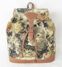 Cats & Kittens Design Tapestry Backpack or Rucksack Signare