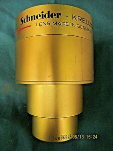 Schneider 85mm Cinelux Ultra 35mm Cine projection Lens !