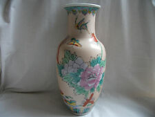 Oriental design Pottery Vase – Ref 1087