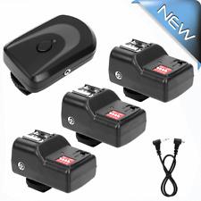 16 Channel Wireless Remote Flash Speedlite Trigger Set w/ 3 Receiver
