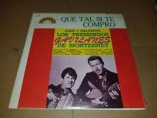 Los Tremendos Gavilanes - Que Tal Si Te Compro - LP - NEW SEALED
