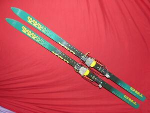 K2 TRC 180cm Telemark SKISw/  Rainey Superloop Tele Bindings, Leashes THINK SNOW