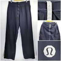 Lululemon Mens Large Reg Athletic Sweatpants Jogger Pants Black