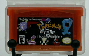 Pokemon Firered Rocket Edition Final V1.0 for Gameboy Advance | US Seller