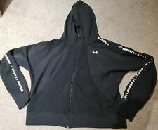 Under armour Threadborne fleece fabric full zip hoodie size XL-50/52