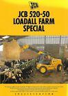 Farm Equipment Brochure - JCB - 520-50 - Loadall Farm Special - 1996 (F7362)