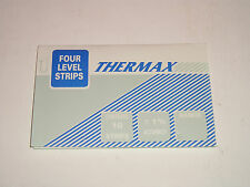 10 THERMAX FOUR LEVEL HEAT TEMPERATURE THERMAL STRIPS 200-230*F