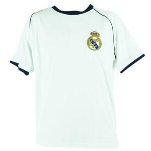 Rhinox Official Real Madrid Soccer Training Youth Futbol Jersey T6Y01 Wht