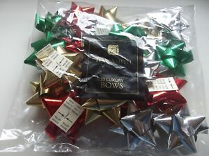 Multipack Of Bows...Tom Smith Luxury Bows For Gift Wrapping Pack Of 20