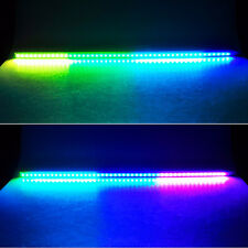 Multi 7 Color LED Knight Night Rider Scanner Lighting Bar Car Flash + Remote Hot