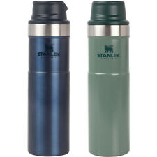 Stanley 20 унций (примерно 566.98 г.) Trigger-Action кружка Twin Pack-hammertone Green/заката
