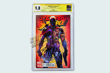 Deadpool vs X-Force #1 Campbell Variant - SIGNED CGC 9.8 ROB STAN LEE CAMPBELL!