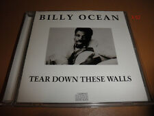 BILLY OCEAN cd TEAR DOWN THESE WALLS hits GET OUTTA MY DREAMS into my car