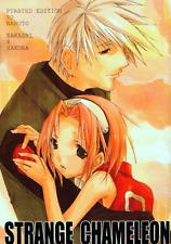 Naruto Doujinshi Comic Manga Ochimusya Kakashi x Sakura Strange Chameleon