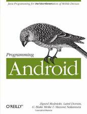 Programming Android by Masumi Nakamura Book The Fast Free Shipping