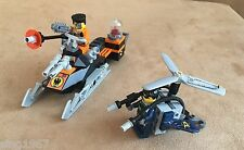 8631 LEGO Complete Agents Jetpack Pursuit Chase Saw Fist plane cycle