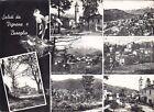 VERBANIA VIGNONE 01 BUREGLIO - SALUTI da... Cartolina FOTOGRAFICA viaggiata 1960