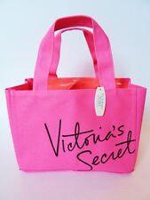 VICTORIA'S SECRET SUPER CUTE NEON PINK 2013 MINI TOTE BAG