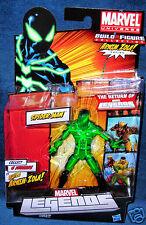 MARVEL LEGENDS BIG TIME SPIDERMAN FOUR AVENGER X MEN ZOLA GREEN VARIANT UNIVERSE