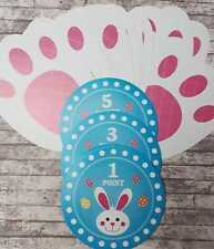 Easter Hunt Game, Easter Bunny, Easter Egg Hunt, Treasure Hunt, Bunny Feet, Egg