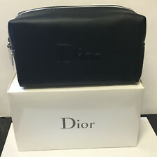 2 Dior Black Trousse Pouch Perfect for makeup