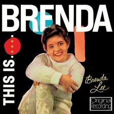 CD THIS IS BRENDA LEE I WANT TO BE WANTED JUST A LITTLE BLUEBERRY HILL PRETEND