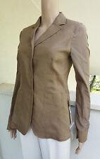 MAX MARA Flaxlinen/Silk Blend Jacket size 6 USA,8 GB,36 D,40 I,38 F NEW ARRIVA