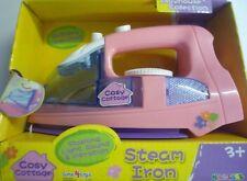 Cosy Cottage Pink Toy Electronic Iron. Light, Sound & Vibration