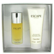 ESCAPE For Men Gift Set - 3.4 oz EDT Spray + 6.7 oz After Shave Balm