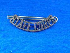 New listing Inter War, Wwii Australian Staff Corps Bronze Shoulder Title + Pin