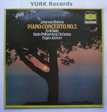 DG 2542 151 - BRAHMS - Piano Concerto No 2 GILELS / JOCHUM BPO - Ex LP Record