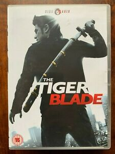Tiger Blade DVD 2005 Thai Martial Arts Movie on the CineAsia Label